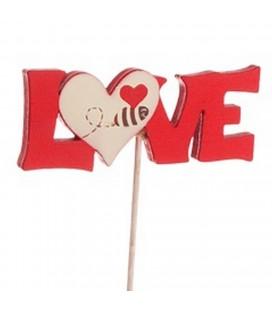 Pics Love tige 20 cm lot de 24