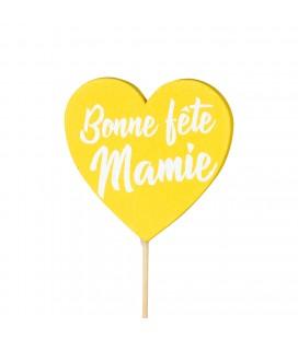 Pics Mamie jaune x 24 lon 50 cm x25