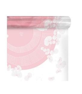 Carré a bulle Zelia Rose 0.70x40M