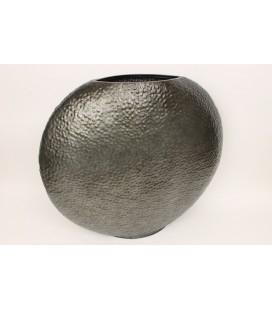 Vase zinc  tres gros 66x15H60