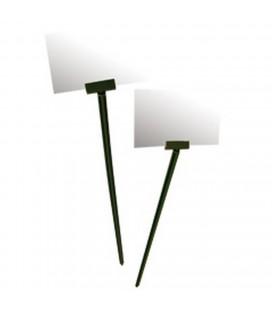 Etiquette prix 20 cm vert x10