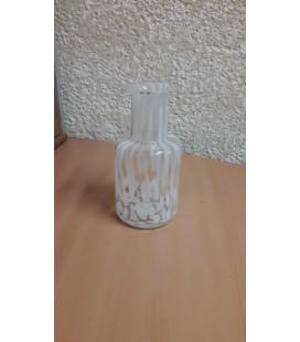 Bouteille verre blanc Ø 9 H21