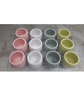 Lot de 12 CP Ø6.5 Multiclor Pastel