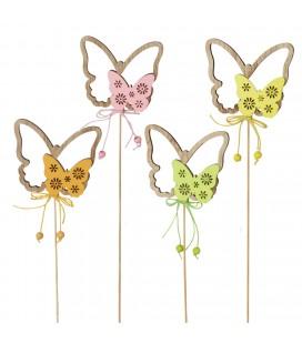 Pics Papillons 7.5x8cm+20 x24p