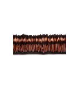 Fil laque 0.50mm x 50 m Chocolat
