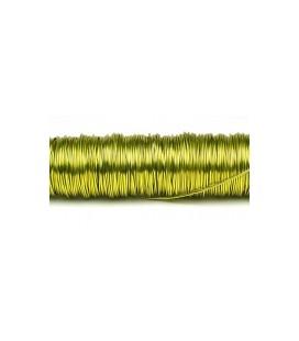 Fil laque 0.50mm x 50 m Citron vert