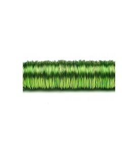Fil laque 0.50mm x 50 m Vert pomme
