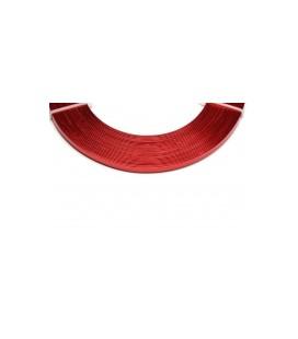 Alu Plat  0.01x0.05x5m Rouge