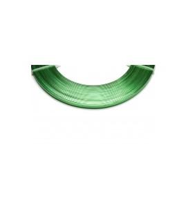 Alu Plat  0.01x0.05x5m Vert pomme