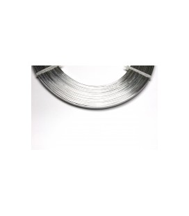 Alu Plat  0.01x0.05x5m Argent