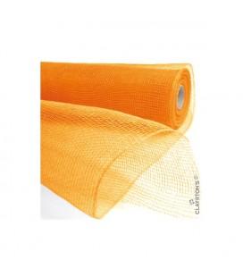 Zéphir orange 55cm x 9.10 m