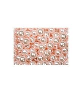 Perles Rose 8 mm