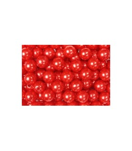 Perles Rouge 8 mm