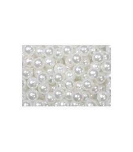 Perles Blanc 8 mm
