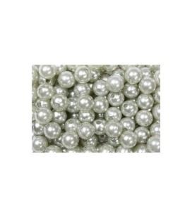 Perles Argenté10 mm