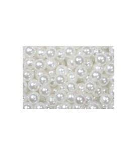 Perles Blanche10 mm