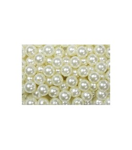 Perles Champagne14 mm