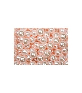 Perles Rose 14 mm