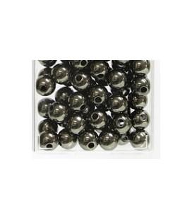 Perles Métalliques Anthracite 10 mm