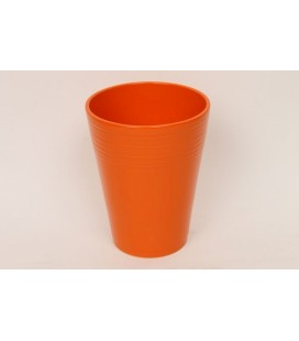 Lot de 9 pot léo Orange gloss Ø12.5