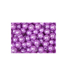 Epingle 6mm téte de perle Violet