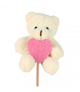 Pic Ours Peluche 7x5+50cm X25p