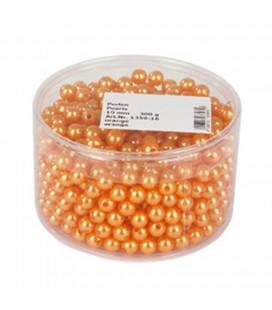 Perle vrac 10mm tube 600p Orange