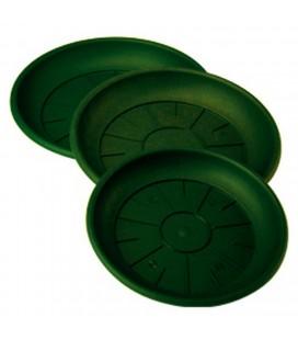 Soucoupe Plastique 16 cm lot de 10