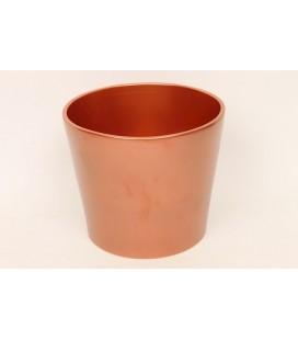 Cache pot Ø 17 h 15 bronze