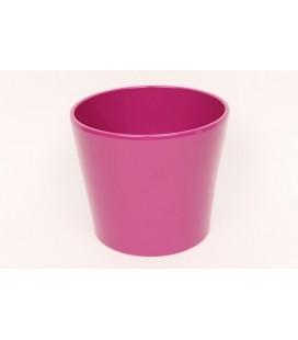 Cache pot Ø 17 h 15 pink