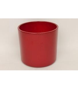 Cache Pot Rouge Ø 17 Cm PETIT POINT