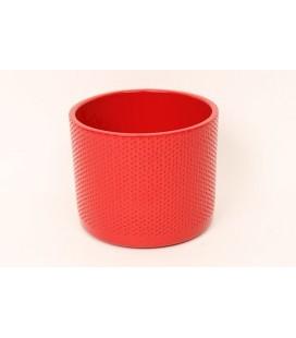 Cache Pot Rouge Ø 15 Cm PETIT POINT