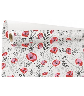 Kraft  Lilou  rose/blanc 0.79x40