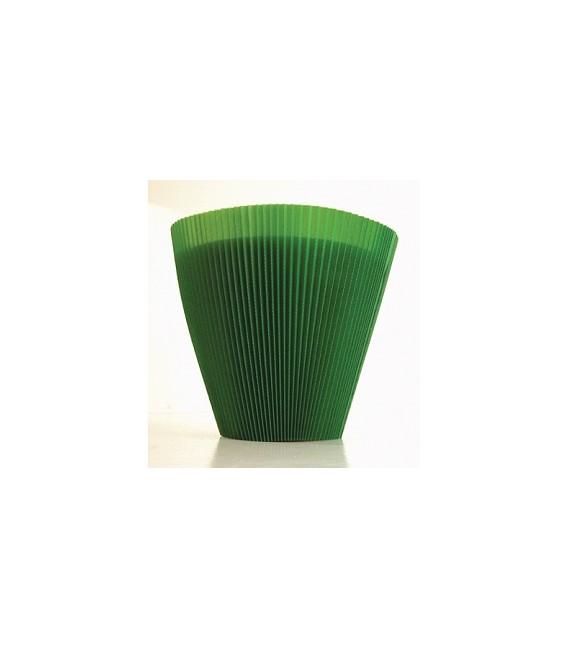 Manchettes Vert Foncé 16 cm