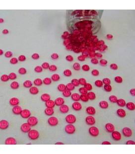 Cristal déco perle Fuchia 1.50 kg