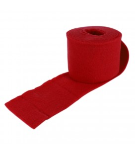 Rouleau feutrine 15 cm x 5 M Rouge