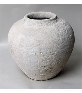 Vase beton diam 30/11.50h28 cm