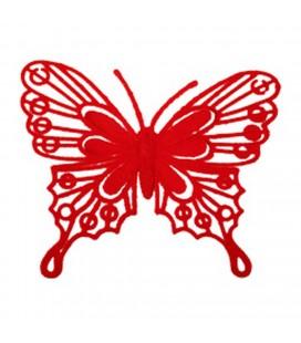 Pics Papillon Rouge  9x10  X 24 p