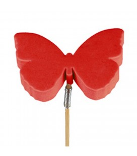 Pics Papillons Rouge 5.5x7  x10 p