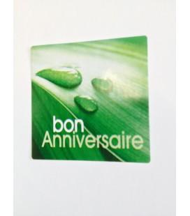 Etiquette Bon Anniversaire 500 p