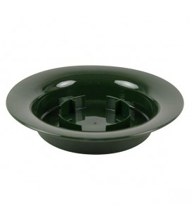 Coupelle Cetre de Table Verte 20 Cm