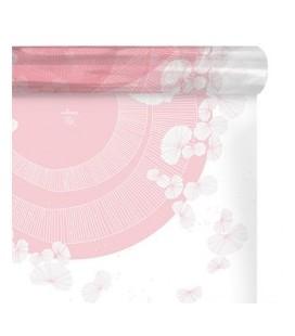 Carré a bulle Zelia Rose 0.80x40