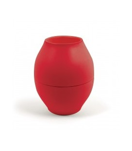 Vase diabolo ROUGE d88xh176mm