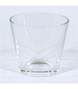 Pot Conique verre d 11.5h11 cm