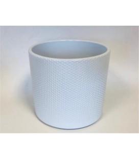 Cache pot Blanc 15 Cm