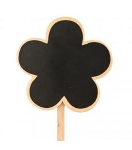 Pics etiquette bois fleurs + 40 cm