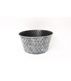 Coupe metal rond diam 42 h 21 cm