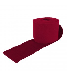 Rouleau feutrine 15 cm x 5 M Bx/Red