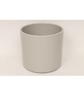 Cache Pot Grey 17 Cm lot de 4