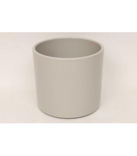 Cache Pot Grey 17 Cm lot de 4